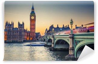 Vinylová Fototapeta Big Ben a Houses of Parliament, London