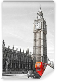Fototapeta Vinylowa Big Ben, House of Parliament i Westminster most
