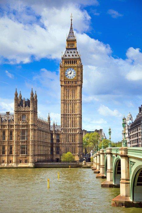 Fototapeta Vinylowa Big Ben, London, UK - Tematy