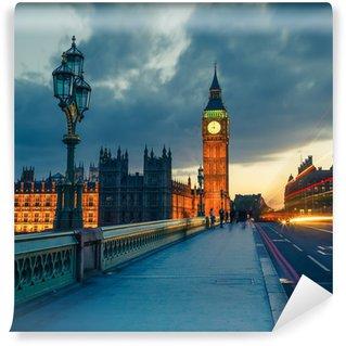 Vinylová Fototapeta Big Ben v noci, Londýn