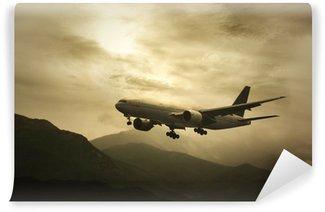 Vinylová Fototapeta Big Passanger Plane