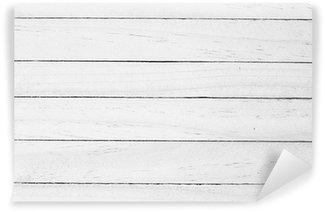 Vinylová Fototapeta Bílá Dřevo pozadí