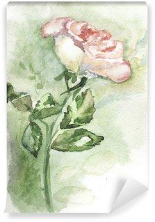 Vinylová Fototapeta Bílá růže 2