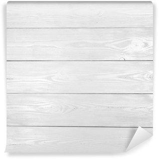 Vinylová Fototapeta Bílé dřevo textury