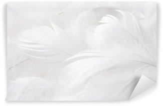 Vinylová Fototapeta Bílé peří