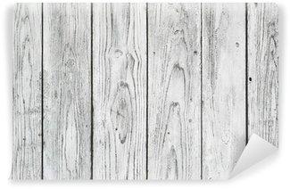 Vinylová Fototapeta Bílé prkna