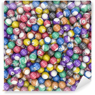 Vinylová Fototapeta Billiard balls background
