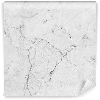 Vinylová Fototapeta Bílý mramor s přírodním vzorem.