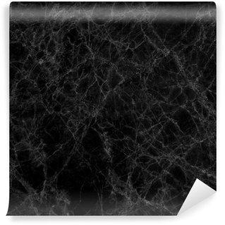 Vinylová Fototapeta Black marble texture (vysoké rozlišení)