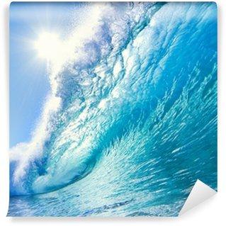Vinylová Fototapeta Blue Ocean Wave