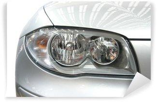 Vinylová Fototapeta BMW světlometů
