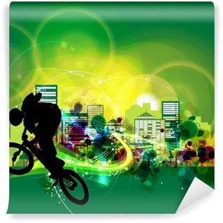 Vinylová Fototapeta BMX cyklista