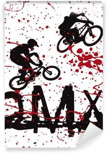 Vinylová Fototapeta BMX jezdci