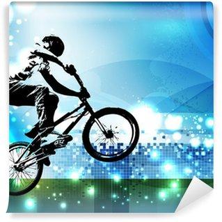 Vinylová Fototapeta Bmx motorkář