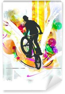 Vinylová Fototapeta BMX rider