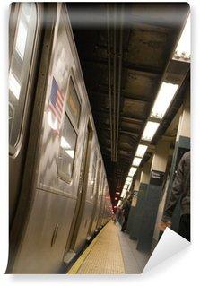 Vinylová Fototapeta Boční z metru New York City, které není v pohybu.