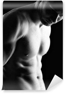 Vinylová Fototapeta Bodybuilder