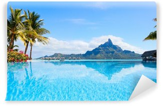 Vinylová Fototapeta Bora Bora krajiny