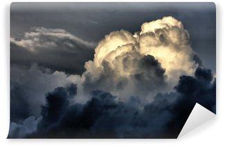 Vinylová Fototapeta Bouřkové mraky