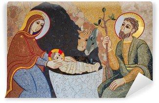 Vinylová Fototapeta Bratislava - mozaika Narození Páně v kostele sv. Sebastian katedrála
