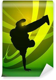 Vinylová Fototapeta Breakdance