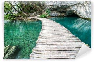 Vinylová Fototapeta Bridge Plitvice