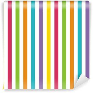 Vinylová Fototapeta Bright Stripes