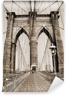 Fototapeta Winylowa Brooklyn Bridge