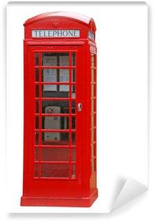 Fototapeta Vinylowa Brytyjska budka telefoniczna