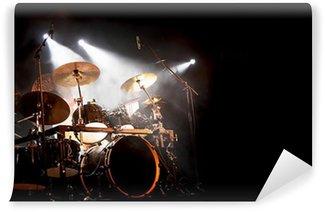 Vinylová Fototapeta Bubny a bicí na koncertě
