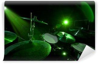 Vinylová Fototapeta Bubny na zelenou