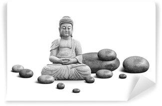 Vinylová Fototapeta Buddha a sociální péče