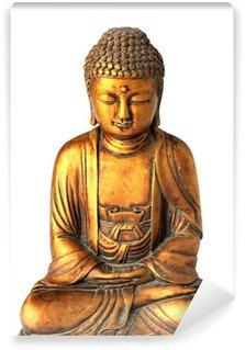 Vinylová Fototapeta Buddha na bílém pozadí