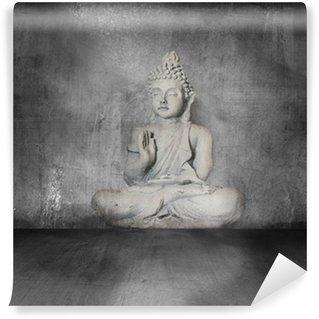 Vinylová Fototapeta Buddha s grunge pozadí
