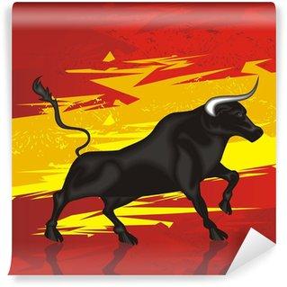 Vinylová Fototapeta Bull flag