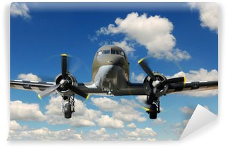 Fototapeta Winylowa C-47 Samolot Vinteg Landing