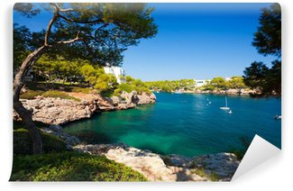 Vinylová Fototapeta Cala d'Or záliv, ostrov Mallorca, Španělsko