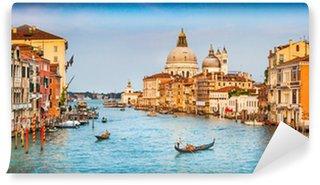 Vinylová Fototapeta Canal Grande Panorama při západu slunce, Benátky, Itálie