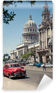 Vinylová Fototapeta Capitolio Havana, Kuba