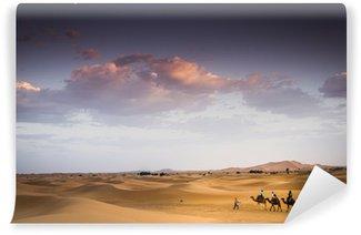Vinylová Fototapeta Carovana nel Deserto