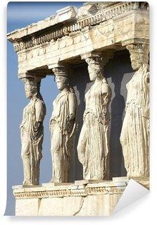 Vinylová Fototapeta Caryatides, erechteion chrám Akropolis, Athény Řecko