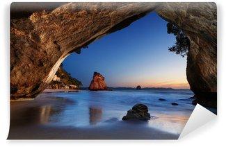 Vinylová Fototapeta Cathedral Cove, Nový Zéland
