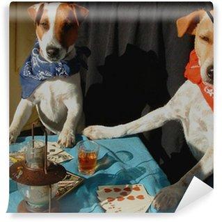 Vinylová Fototapeta Celebrity tvor poker - barevné provedení