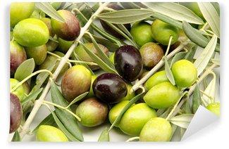 Vinylová Fototapeta Čerstvě sklizené olivy
