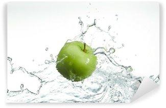 Vinylová Fototapeta Čerstvé zelené jablko