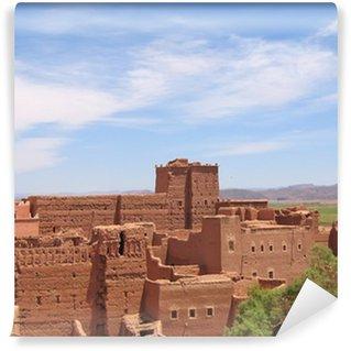 Vinylová Fototapeta Červená pevnost v poušti, Taourirt Kasbah, Ouarzazate, Maroko