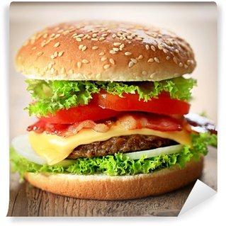 Fototapeta Winylowa Cheeseburger