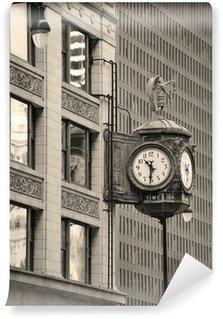 Vinylová Fototapeta Chicago pohled na centrální ulice