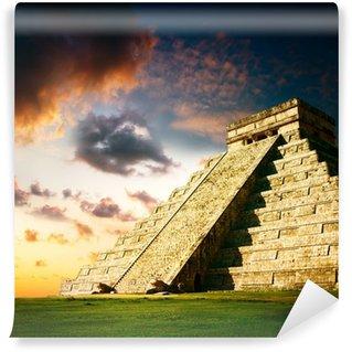 Vinylová Fototapeta Chichen Itza Mayan Pyramid