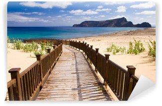 Vinylová Fototapeta Chodník na pláž